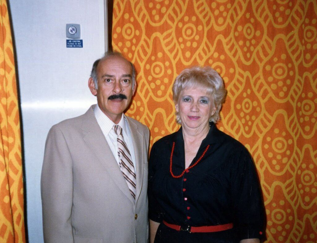 Ken Cox & Psychic Betty Reeves