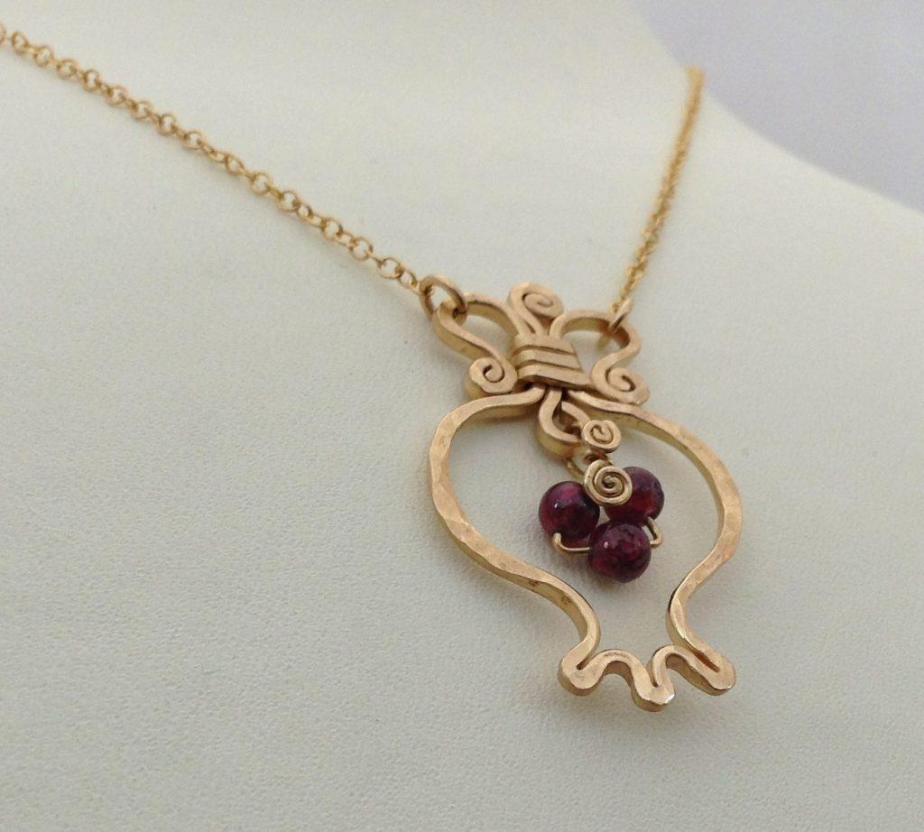 14k Gold Filled Prosperity Necklace